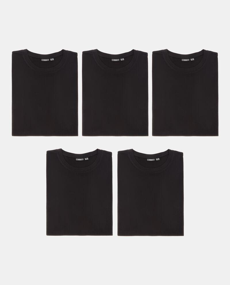 Set t-shirt intime tinta unita uomo
