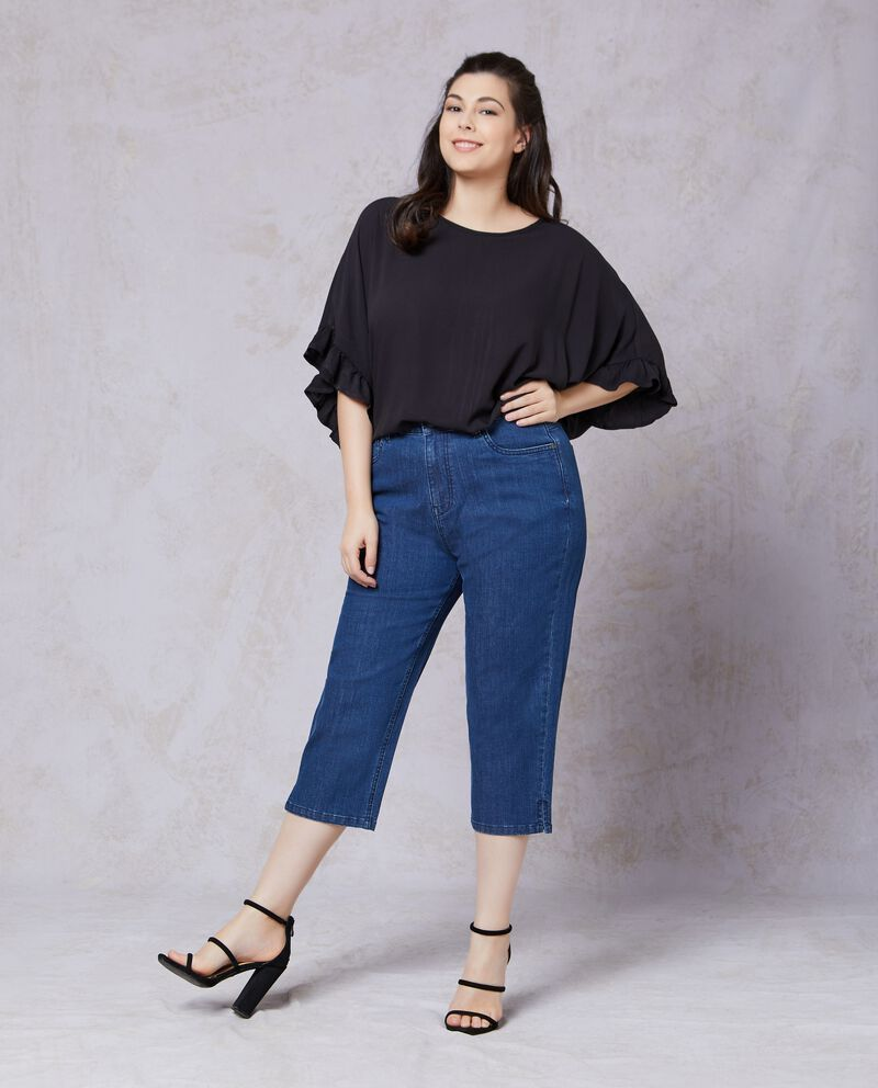 Pantaloni jeans taglie comode donna