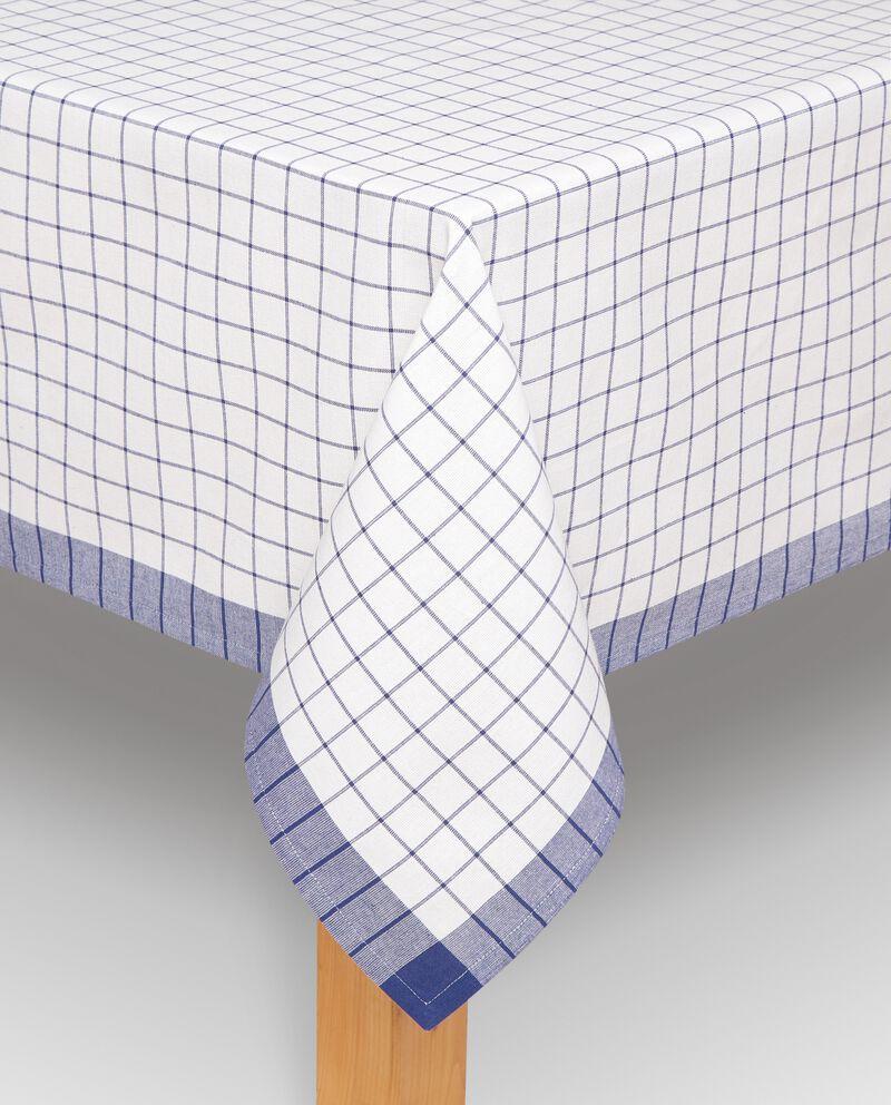 Tovaglia con decoro a quadri single tile 2