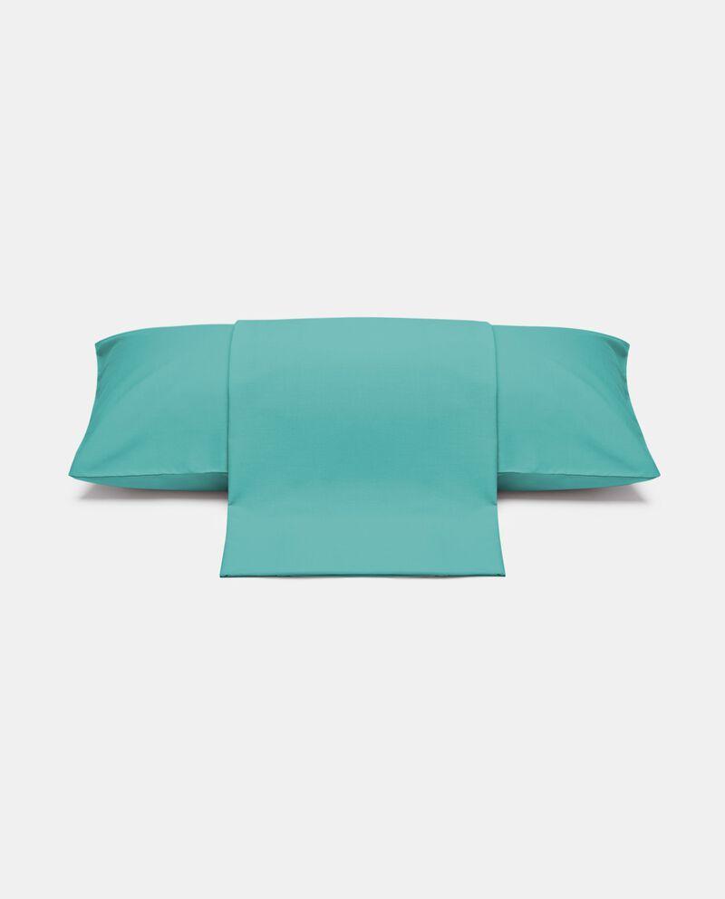 Parure lenzuolo tinta unita di puro cotone cover