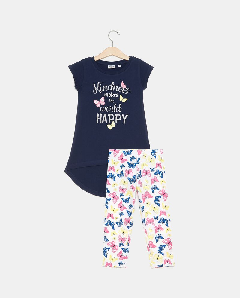 Set t-shirt lunga e leggings