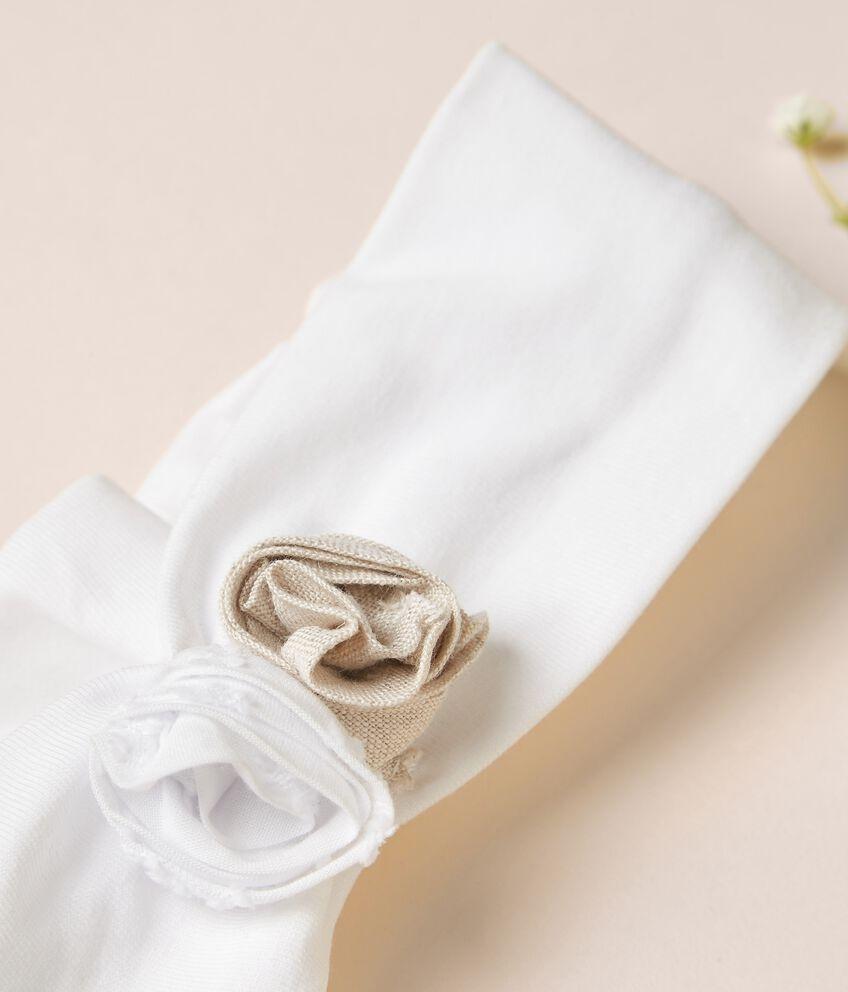 Fascia elasticizzata per capelli di cotone organico stretch MADE IN ITALY