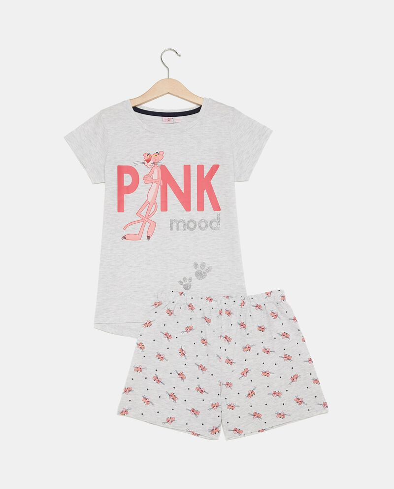 Set pigiama con t-shirt e shorts bambina cover