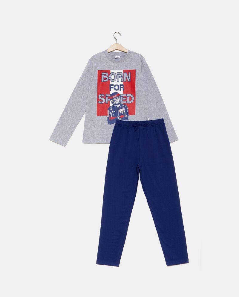 Set pigiama t-shirt stampa e pantaloni ragazzo