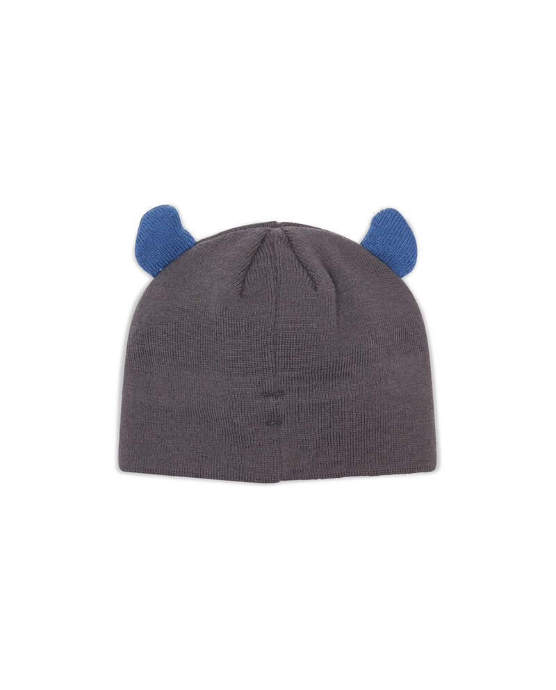 Cappello a cuffia con orecchie applicate