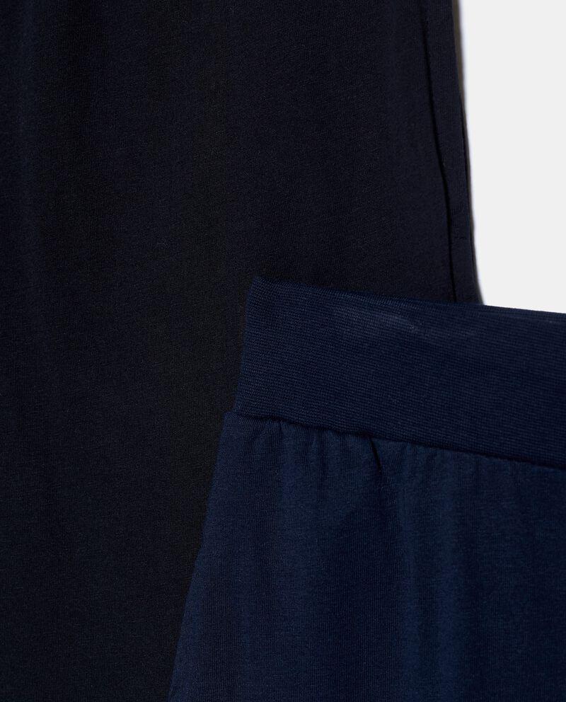 Bipack pantaloni pigiama in puro cotone uomo