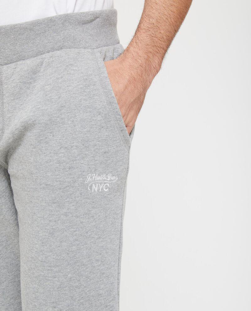 Pantaloni tuta coulisse a contrasto