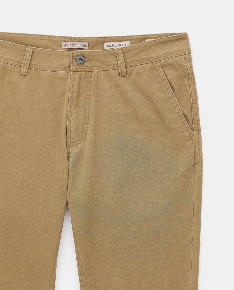 Pantaloni chino di puro cotone uomo single tile 1