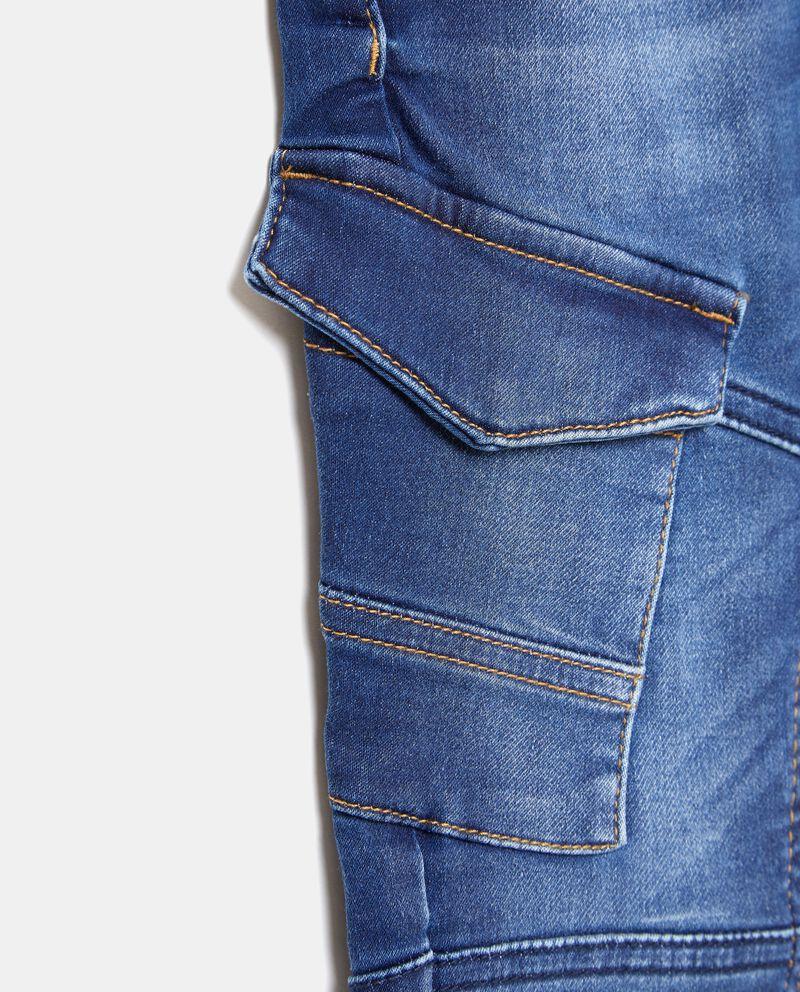 Jeans cargo bambino