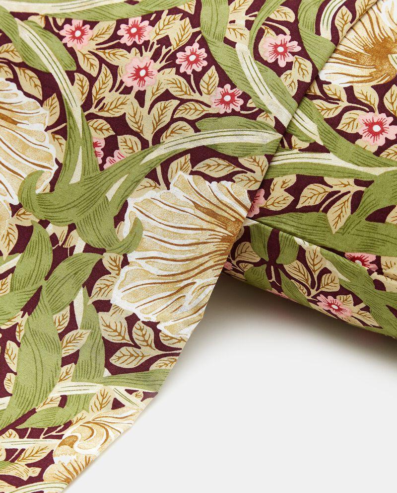 Lenzuolo con stampa floreale di puro cotone single tile 1