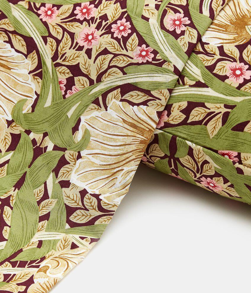 Lenzuolo con stampa floreale di puro cotone double 2