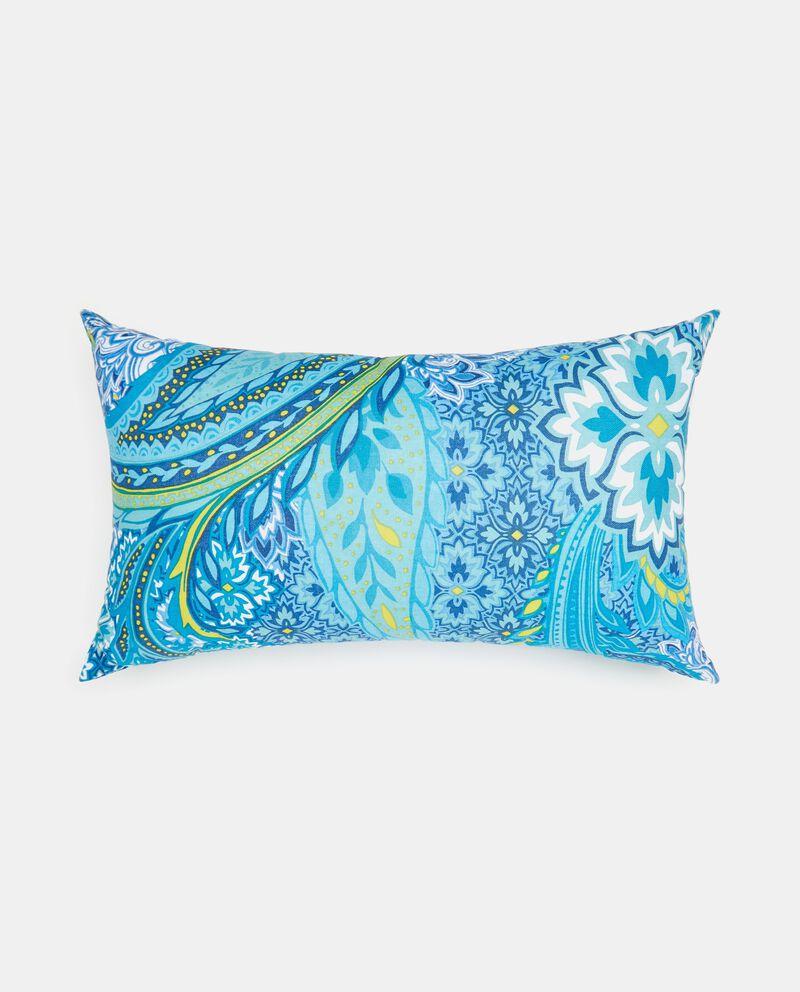 Cuscino in cotone decoro paisley