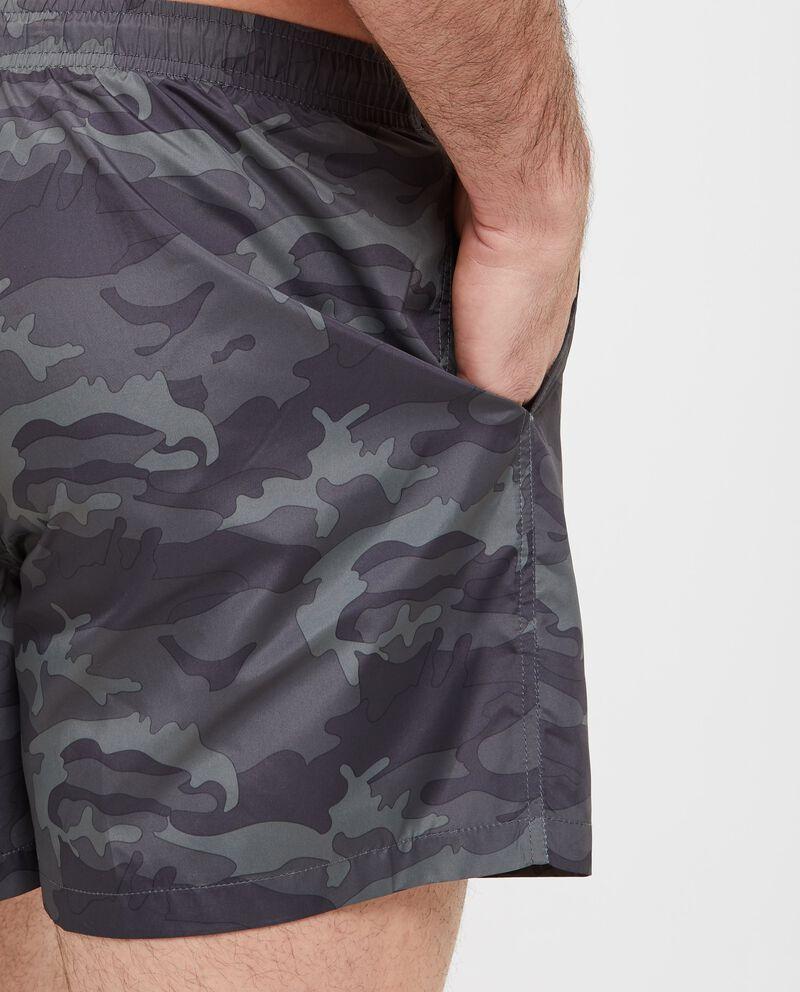 Shorts in fantasia militare uomo