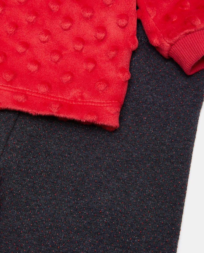 Set jogging con maglia e leggings neonata