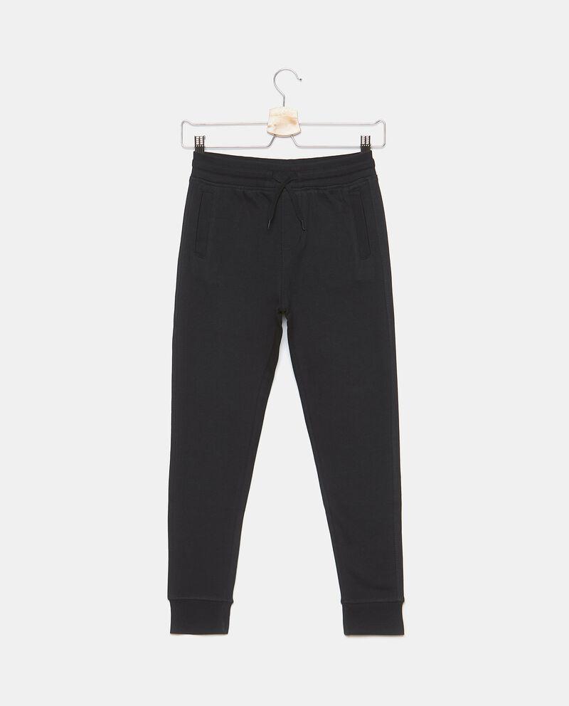 Pantaloni tinta unita puro cotone ragazzo