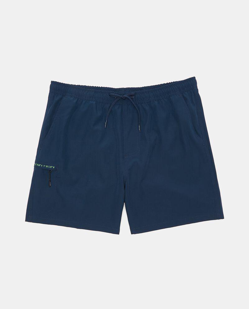 Costume shorts con stampa uomo