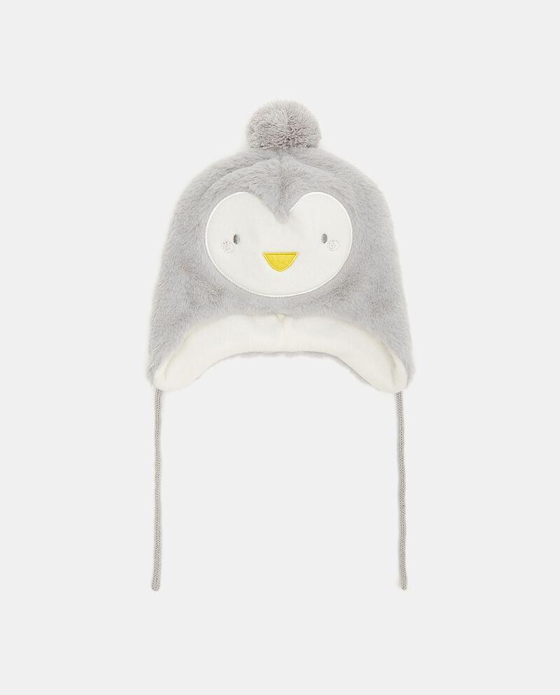 Cappellino in eco fur neonato cover
