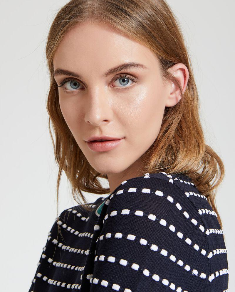 Maglione applicazioni donna