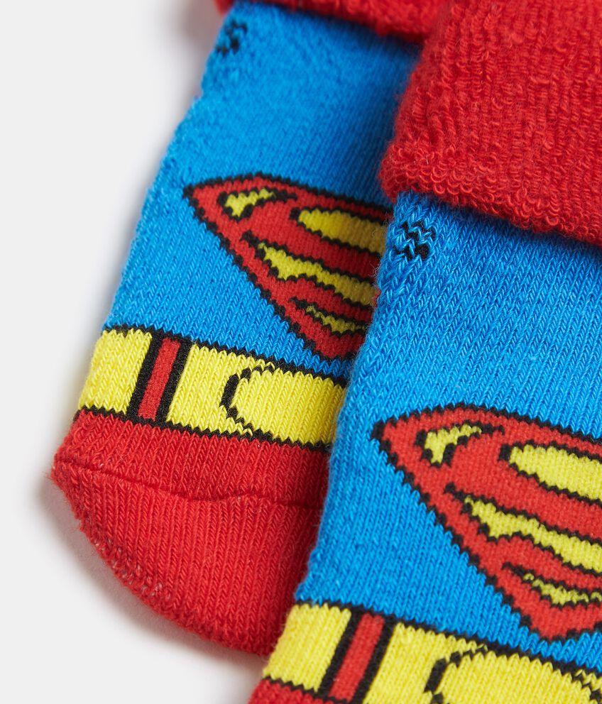 Calzini Superman in puro cotone neonato