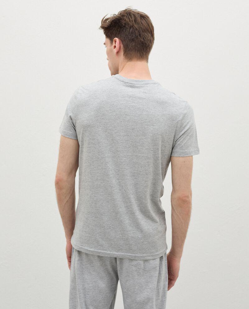 T-shirt intima di cotone organico uomo single tile 1