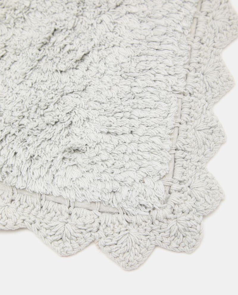 Tappeto bagno lace in puro cotone single tile 1
