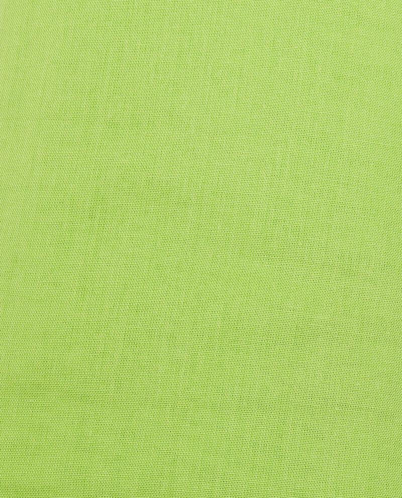 Lenzuolo di puro cotone tinta unita con angoli