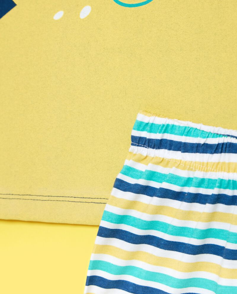 Bipack pigiami in puro cotone con stampa bambino