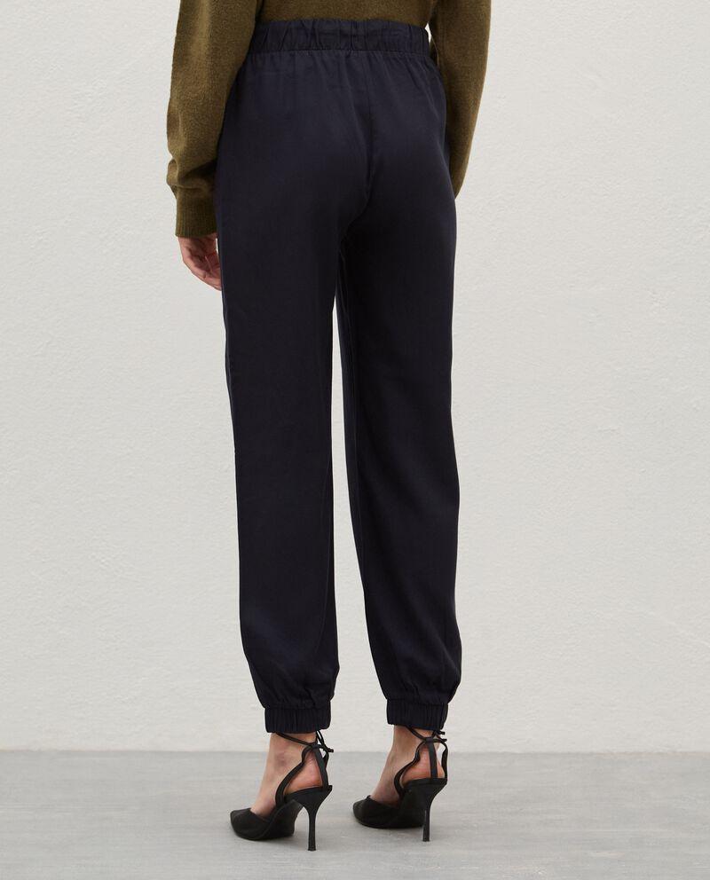 Pantaloni con coulisse donna single tile 1