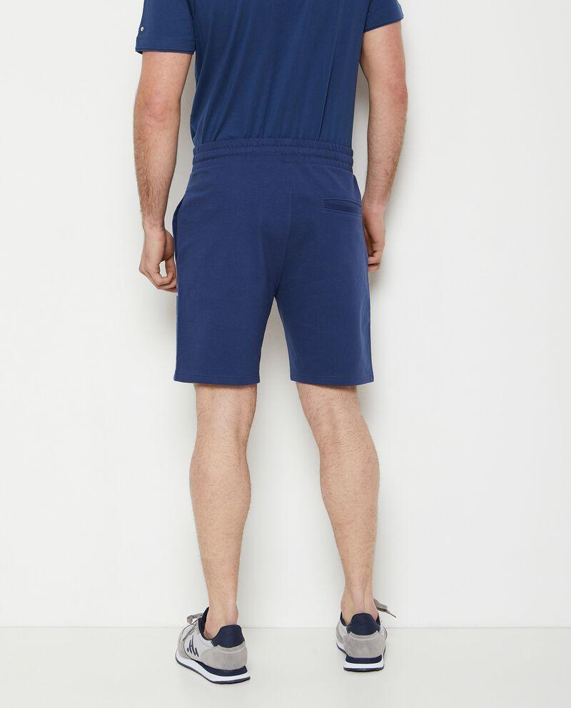 Pantaloncini joggers in puro cotone uomo single tile 1