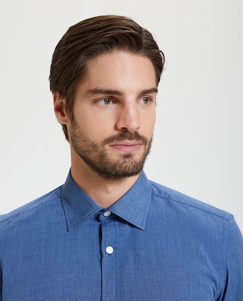 Camicia tinta unita uomo