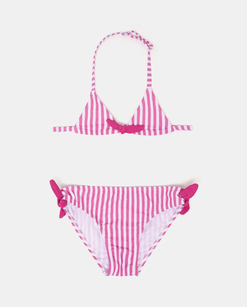 Bikini stretch fantasia a righe