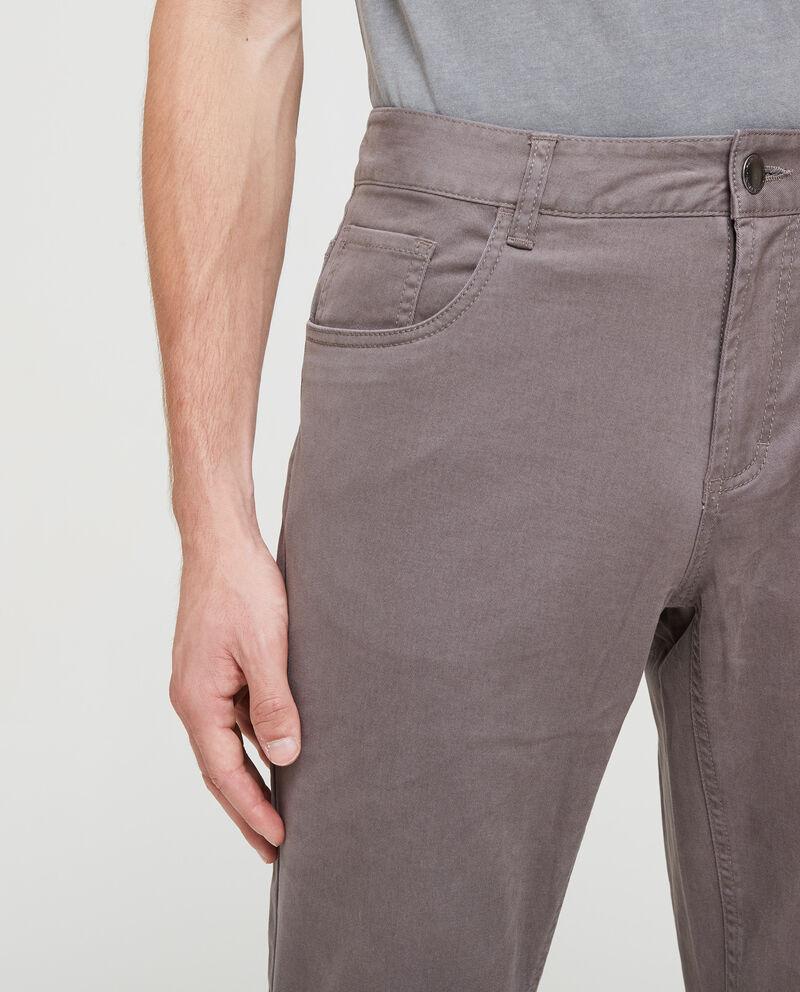 Pantaloni stretch cinque tasche