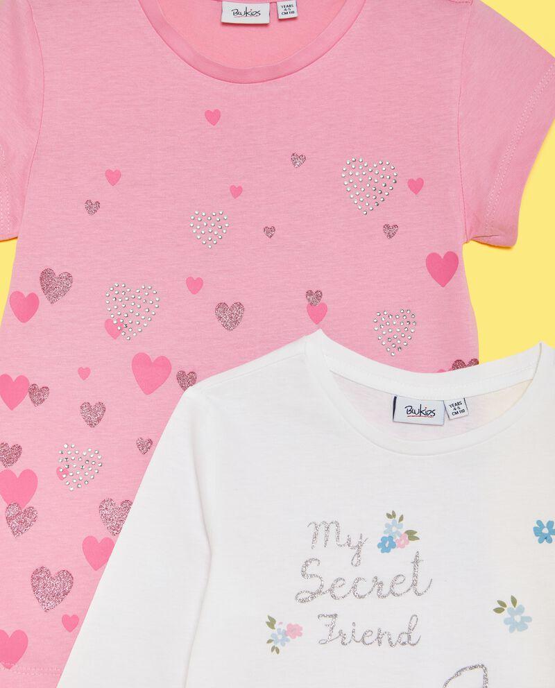 Set t-shirt e maglia stampate