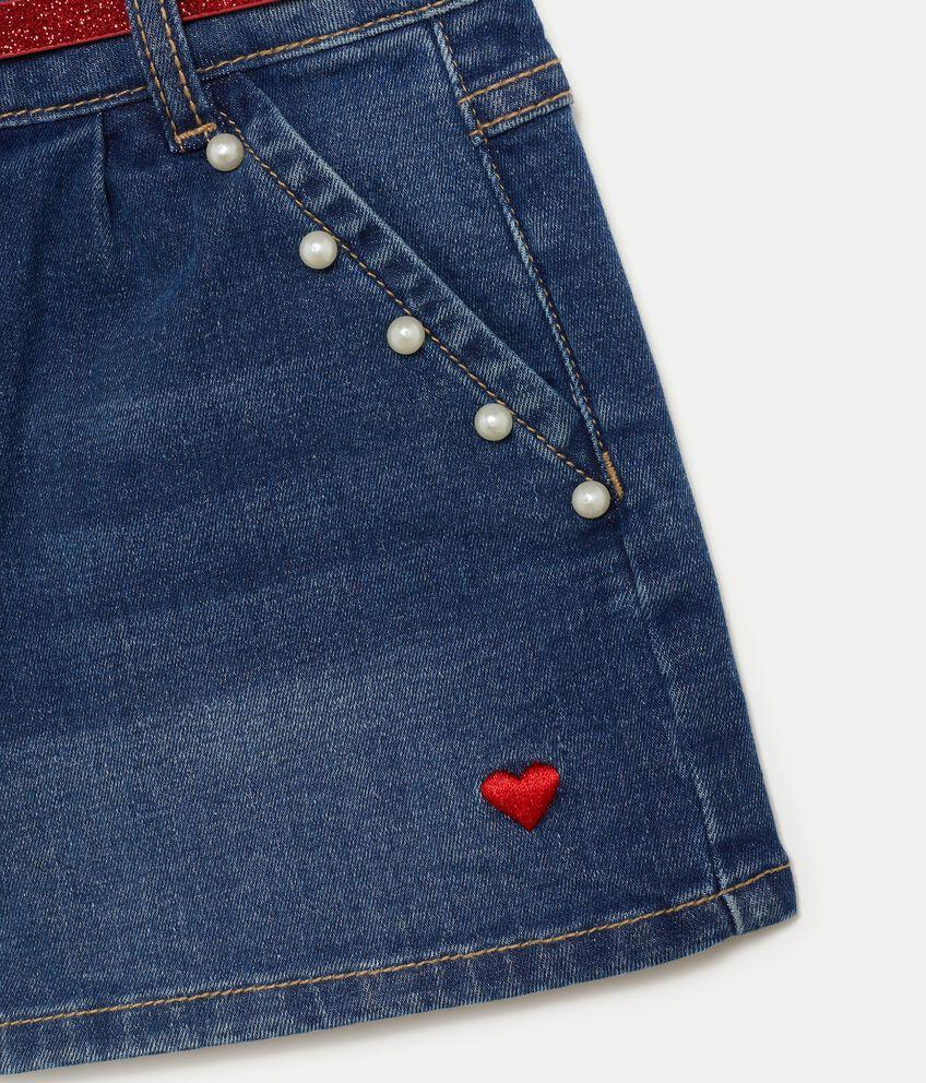 Shorts con perline bambina double 2