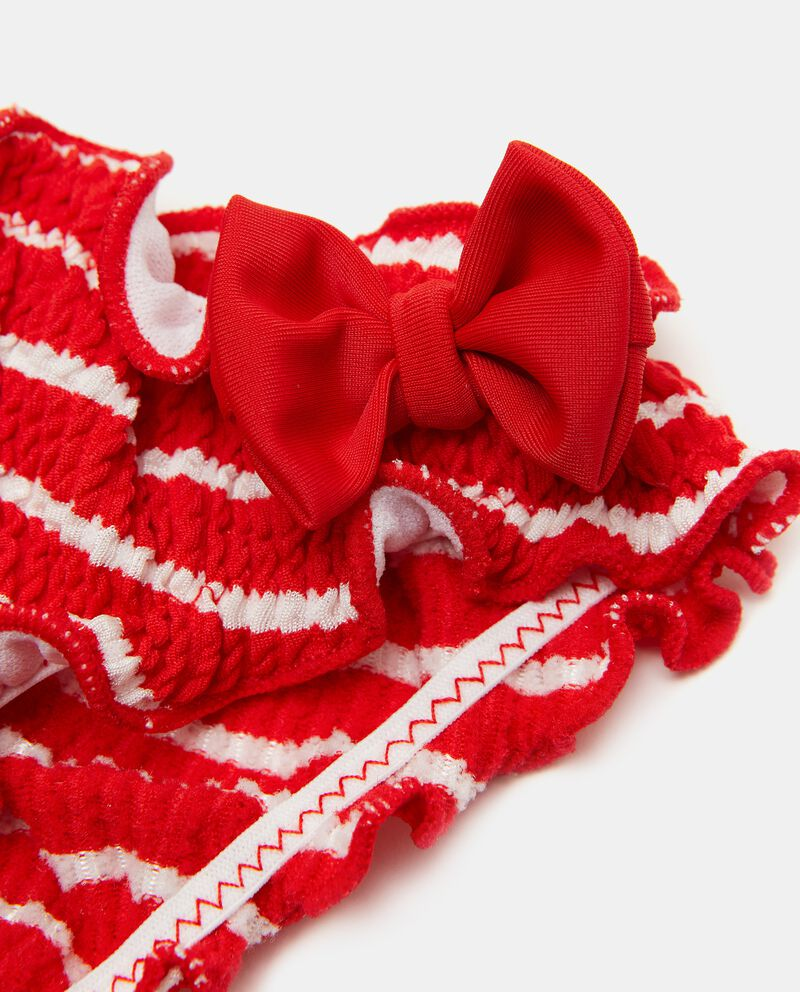 Costume slip goffrato a righe neonatadouble bordered 1