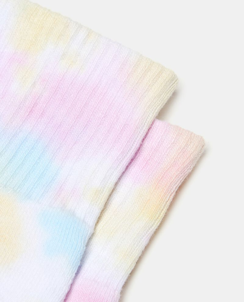 Calzini tye and dye in cotone elasticato bambina single tile 1