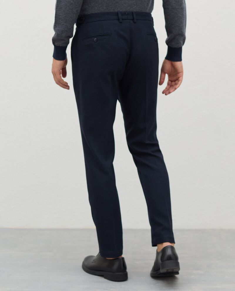 Pantaloni eleganti in poliviscosa uomo single tile 1