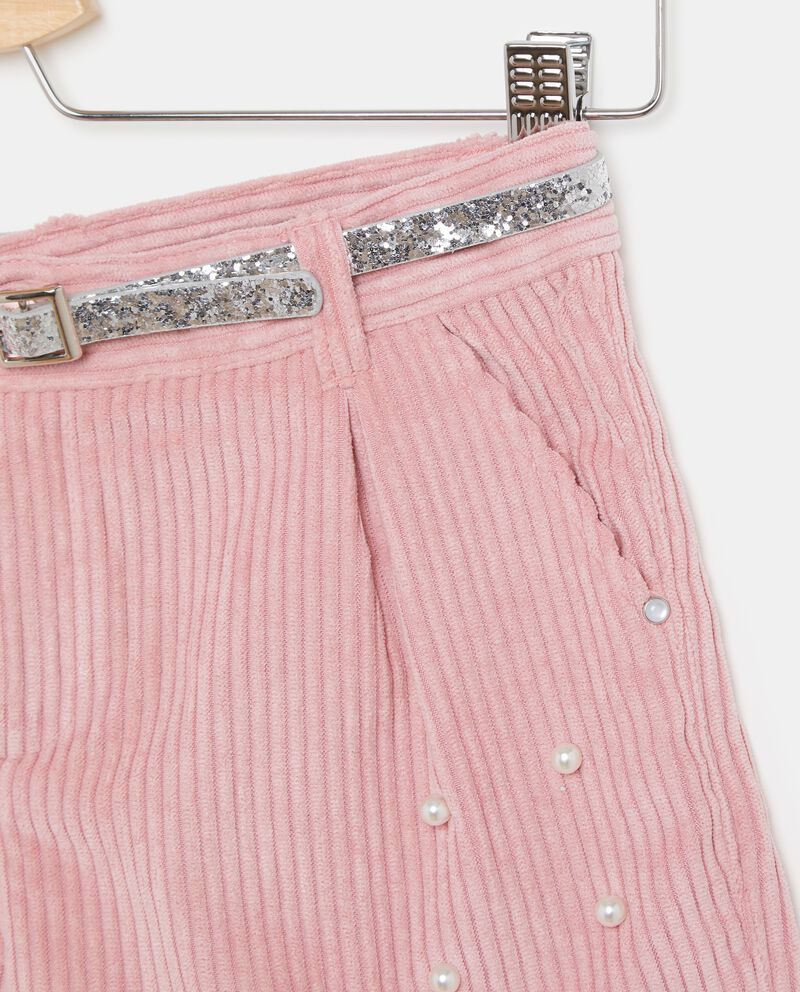 Shorts con perline bambina