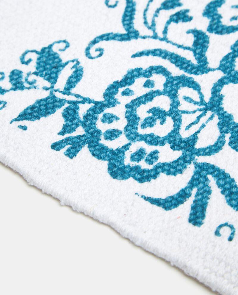 Tappeto floreale in puro cotone single tile 1