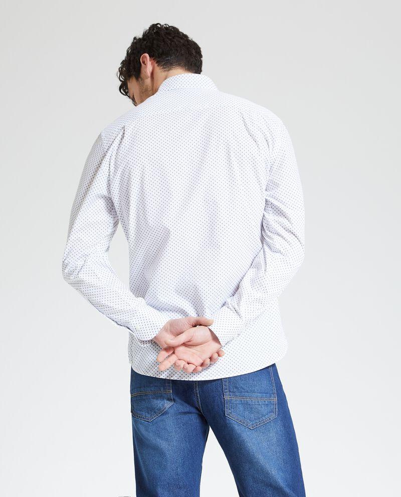 Camicia micro fantasia uomo+U225