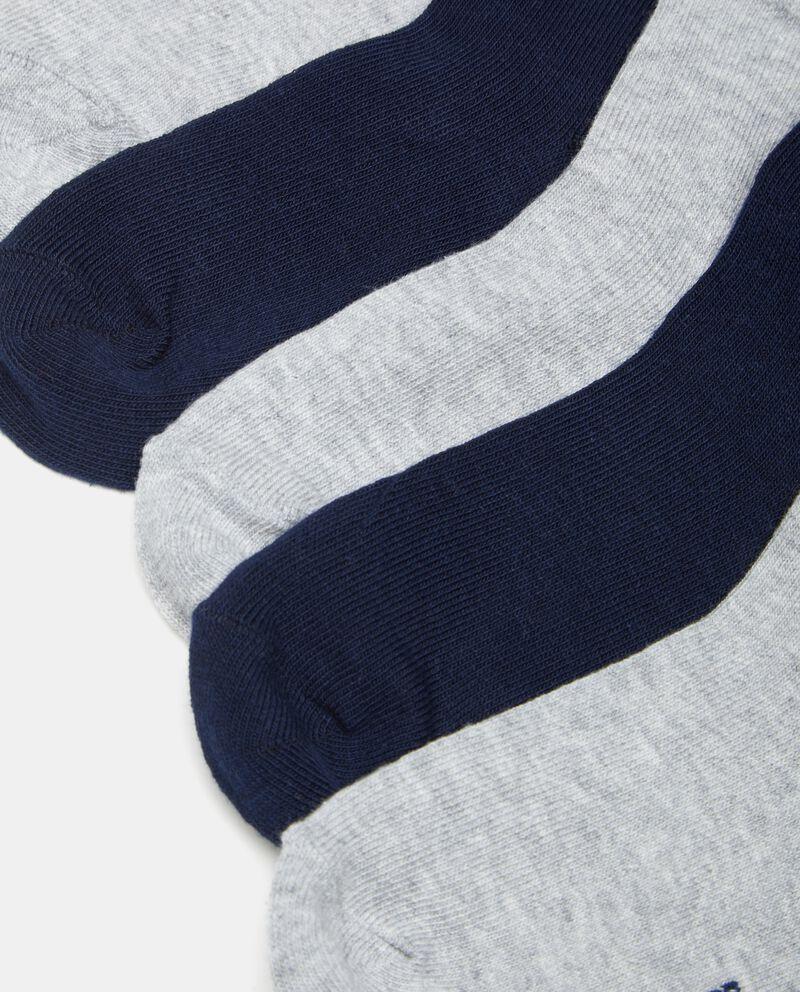 Set calzini in tinta unita