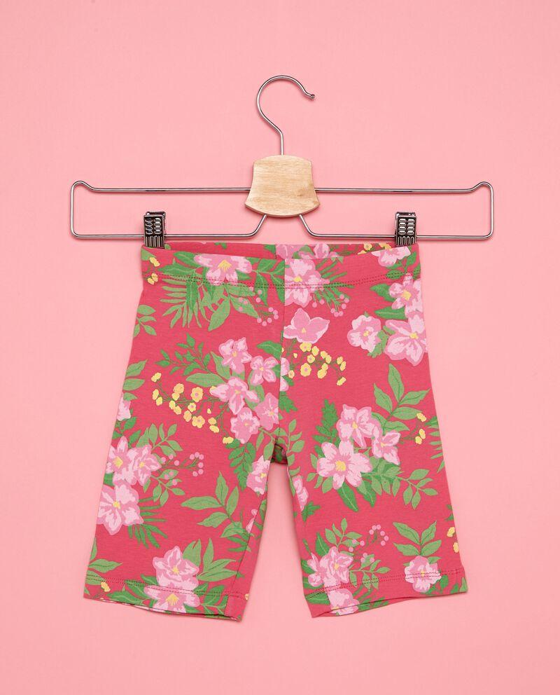 Shorts leggings fantasia floreale