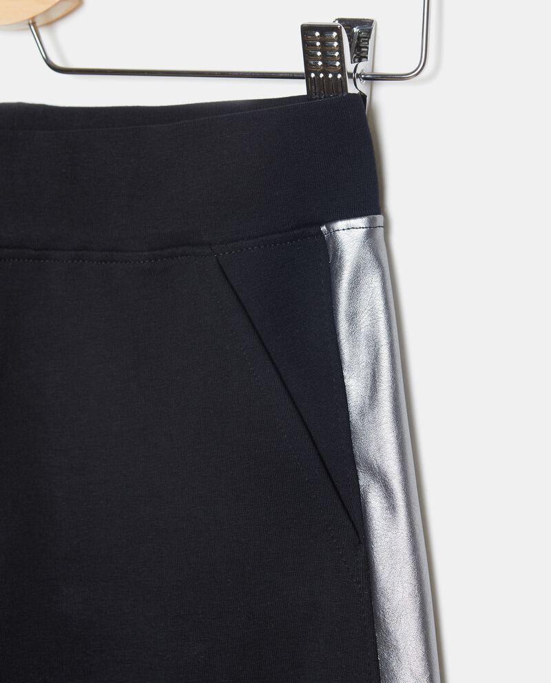 Pantaloni con bande metallizzate ragazza