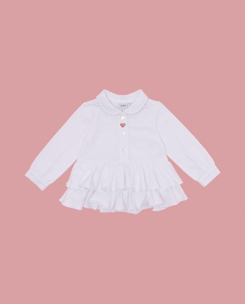 Camicia con balze neonata