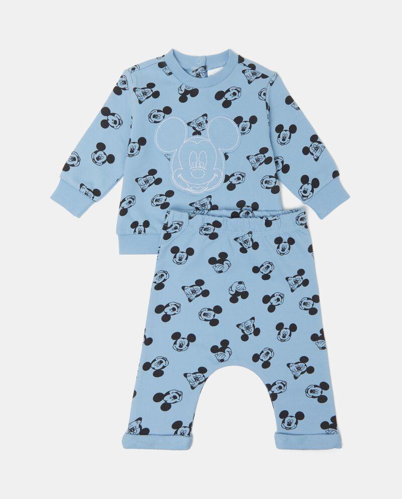 Completino con felpa fantasia Topolino neonato