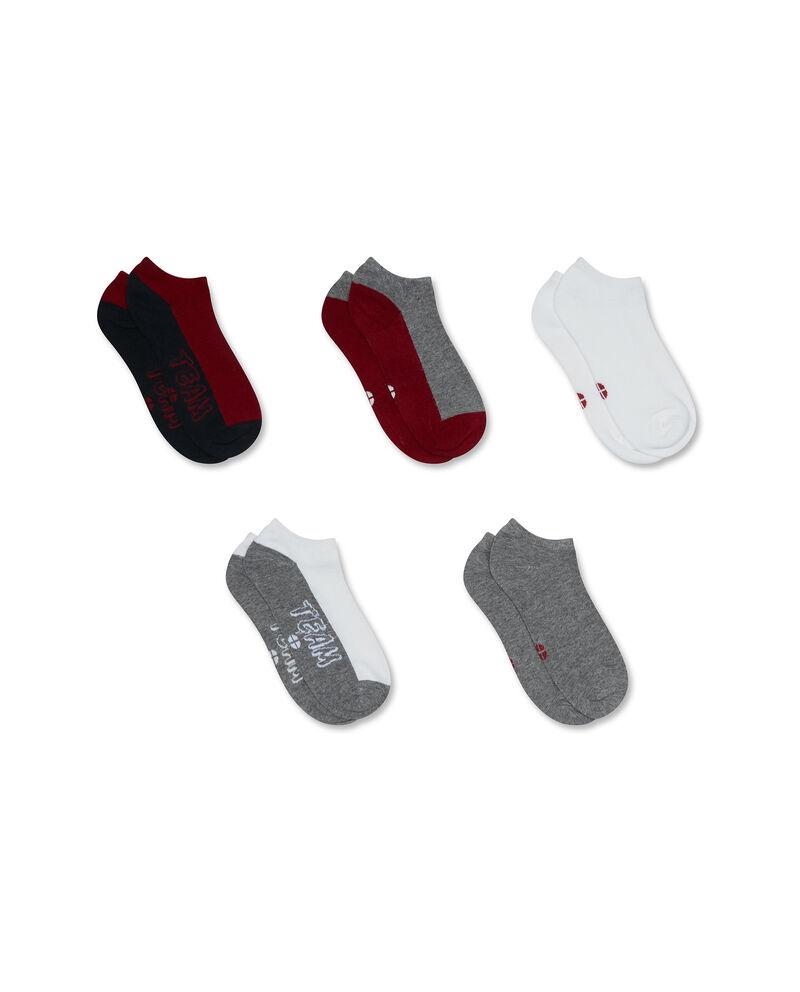 Set cinque paia di calze corte stretch