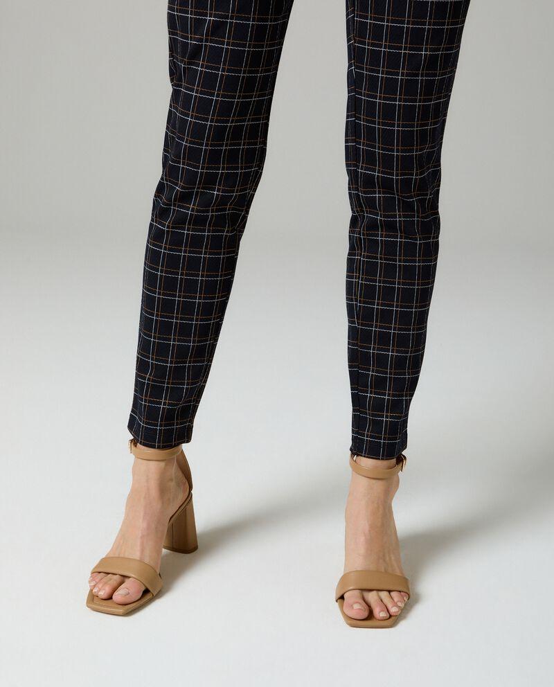 Leggings jacquard donna single tile 2