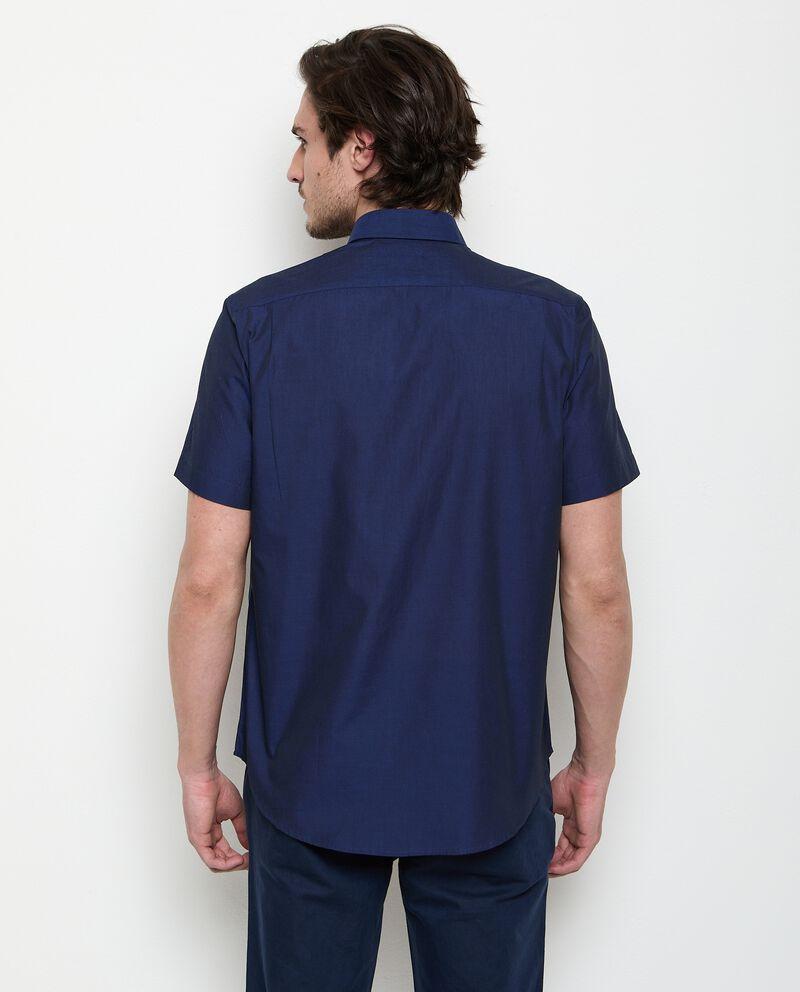 Camicia a maniche corte in cotone uomo
