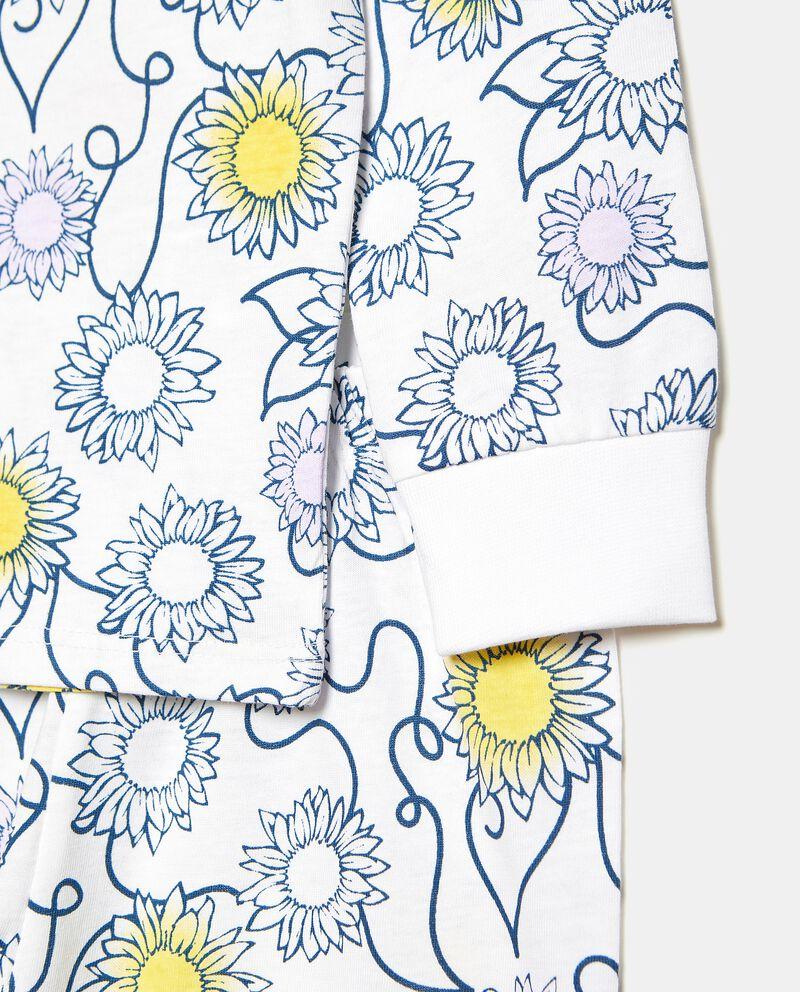 Set pigiama di puro cotone in fantasia bambina