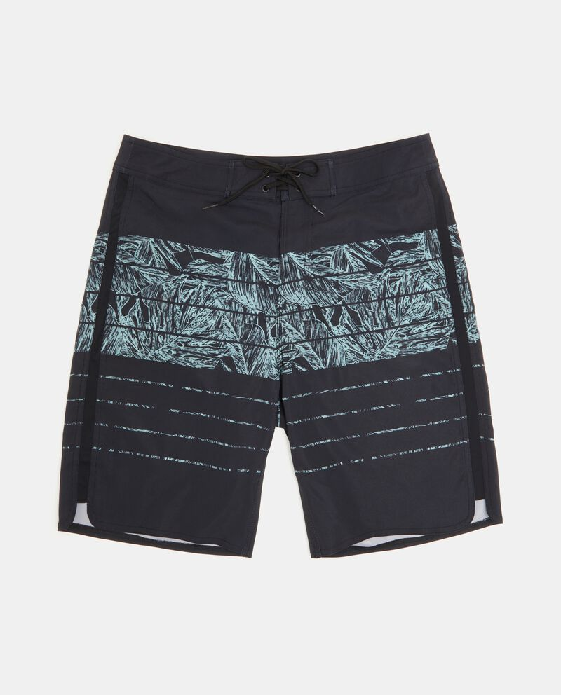 Shorts costume lunghi con stampe